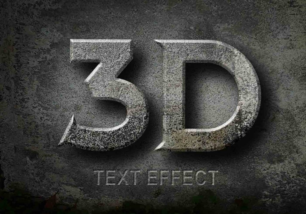Download 3D text effects