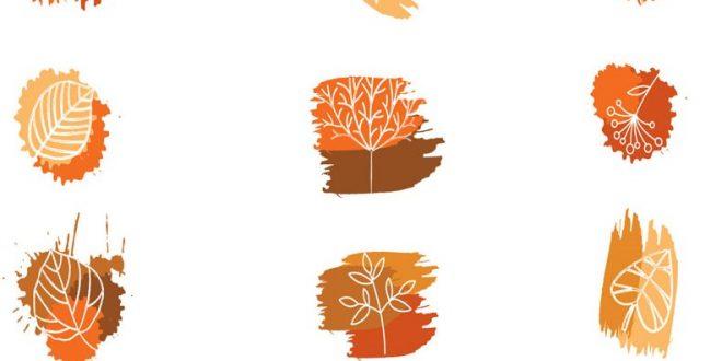 leaf and plant brushes photoshop