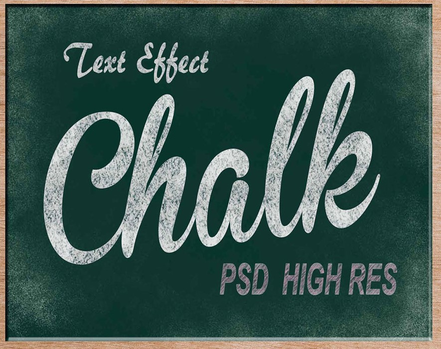 Download Chalk Text Effect