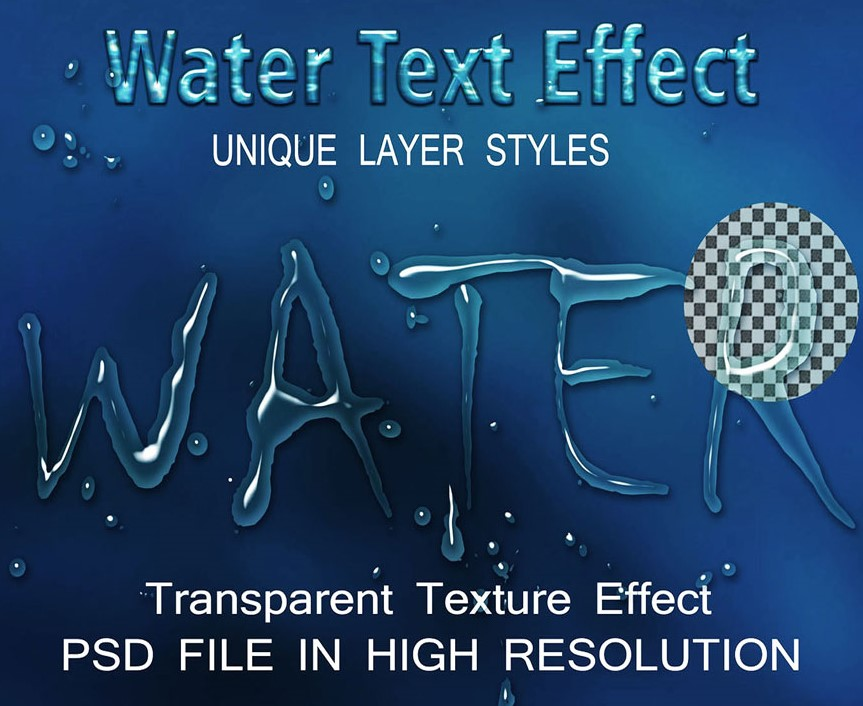 Download Water Effect Text