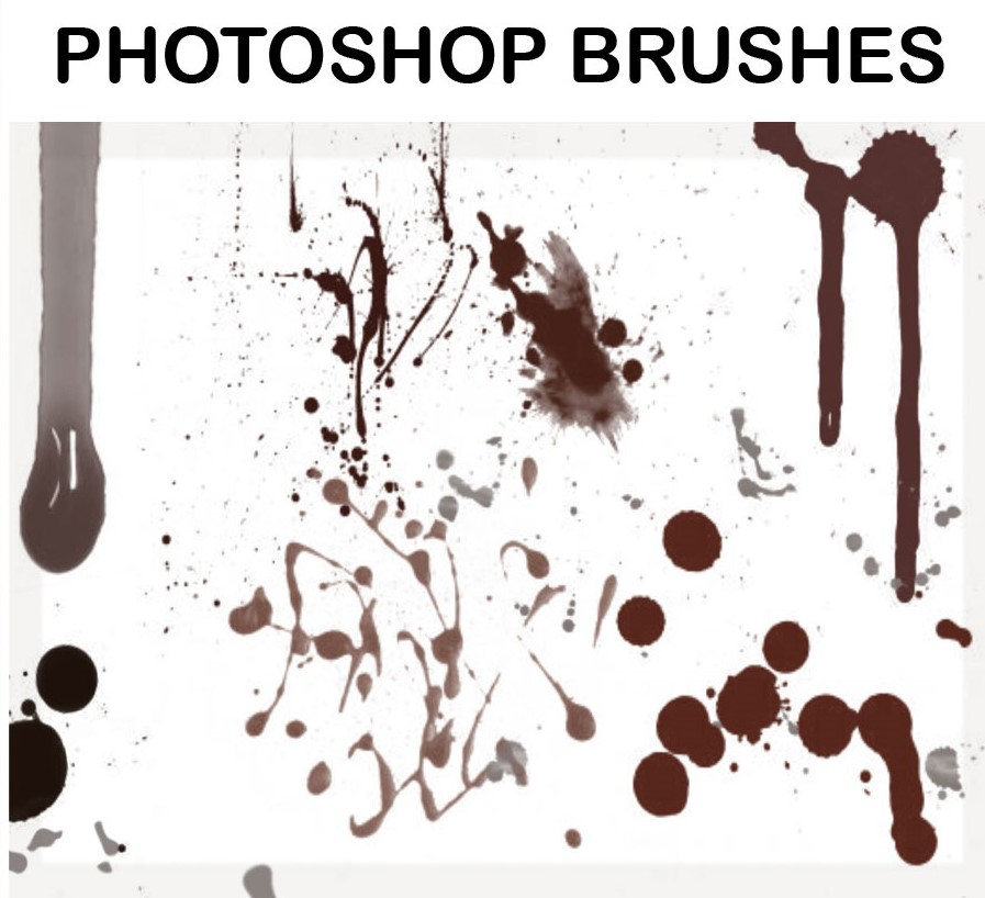 Download Blood and Splatter Brushes