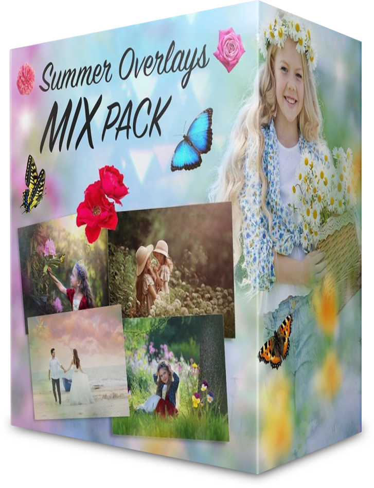 Download Summer Overlays Mix Pack