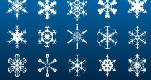 Download Snowflake Photoshop Brushes
