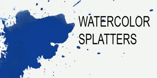 Download 32 Watercolor Splash Brushes