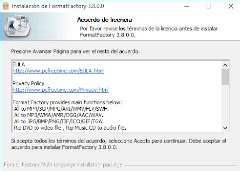 Download FormatFactory v3.8.0.0